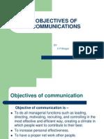Objectives of Communication 8