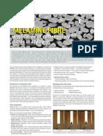 Application of Contemporary Fibers in Apparels Melamine Fibre