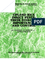 IRPS 123 Upland Rice Insect Pests