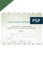 Cross Cultural Communication - T6