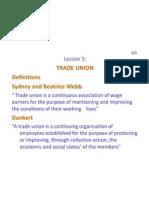 ERM 5 (Trade Union)