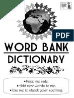 Tom's TEFL - KS2 Word Bank Dictionary
