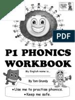 Tom's TEFL - P1 Phonics Workbook