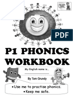 Tom's TEFL - P1 Phonics Workbook