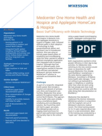 MedCenter One Home Health and Hospice and Applegate HomeCare & Hospice