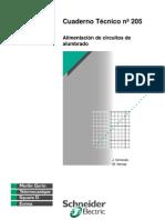 Cuaderno Schneider Alimentacion Circuitos Alumbrado