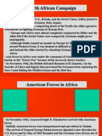 WWII in Europe and Africa