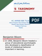 Presentation Taxonomy Bloom (1)