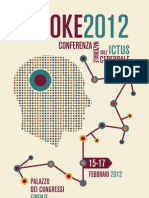STROKE 2012 Programma Preliminare