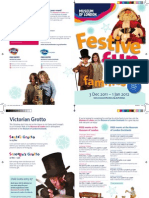 Festive Family Events Flyer