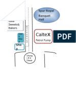 Map Location of Banquet Hall