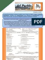 Boletín de Unión Independiente del Pueblo nº 5