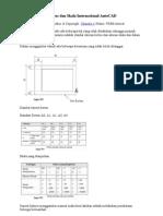 Standar Ukuran Kertas Dan Skala Internasional