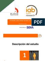 III Estudio sobre redes sociales en Internet (IAB Spain) -NOV11