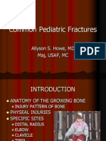 Common Pediatric Fractures