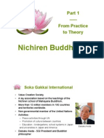 Nichiren Buddhism Practice Introduction