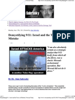 Sabrosky-Demystifying911-IsraelAndTheTacticsOfMistake
