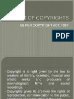 Basics of Copyrights
