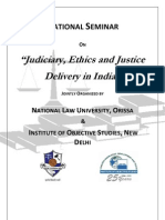 National Seminar on Judiciary Ethics and Justice Delivery System