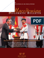 Macedonian diplomatic bulletin No. 53