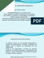 AUDITORÍA OPERATIVA - GRÁFICAS