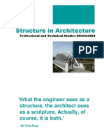 Structure in Architecture 1