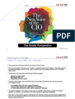 IBM CIO Study 2009 - The Nordic Perspective
