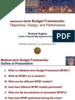 Medium-term Budget Frameworks