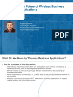 Future of Wireless business applications