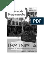 Caderno de Programacao 18 Inpla