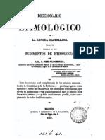 Diccionario Etimologico Caste Llano Monlau