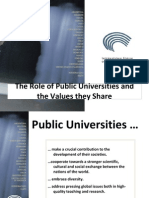 2009 Role Values Public Universitites Final