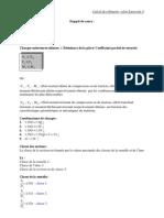 Rappel de cours. Calcul des éléments CM selon Eurocode3