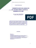 Aspectos sedimentológicos del manejo de cuenca