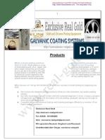 Galvanic Coating Spare Parts