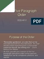 5 PARRAFOS - ORDEN OPNS