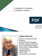 Habermas-Giddens