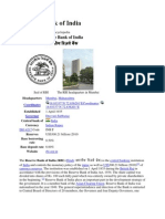 Reserve Bank of India Wikipedia