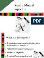 Class Mutual Fund Prospectus