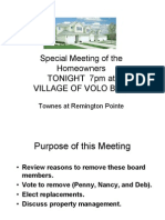 Special Meeting Tonight