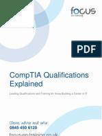 CompTIA Training Courses & Qualifications Explained 1.01