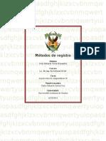 Métodos de registro 1