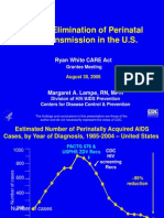 409 Toward Elimination of Perinatal HIV Transmission in the US