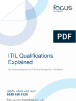 ITIL Qualifications and Training Explained 4.1