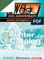 2012 Southwest Ag, Inc. Winter Catalog
