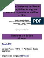 Políticas e Sistemas de Saúde