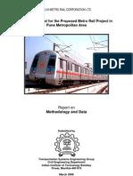 Traffic Forecast for Pune Metro