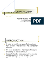Resource Management I