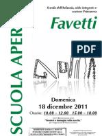Asilo Favetti - Scuola Aperta 2011