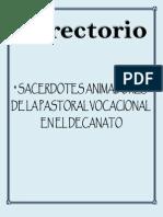 Directorio_sacerdotes Ani Mad Ores (Nada Mas)20112